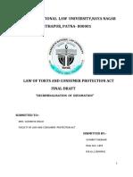 Chanakya National Law University - Torts.docx