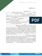 ACR-DOC-01 Modelo de Acta Documentacion Completa