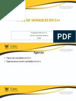 Sesion8_Tipos de variablesC++