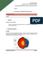 G01. Sistemas Constructivos Avanzados. Mecánica de Suelos. Consideraciones Sísmicas