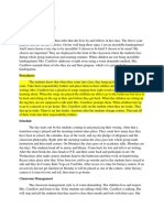 teaching learning context 427 portfolio