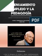 PEDAGOGÍA COMPLEJA