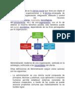 La Admond. Como Ciencia Social (1)