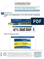 INSTRUCTIVO PARA INSCRIPCIÓN Y MATRICULA DE CURSOS O DIPLOMADOS.pdf