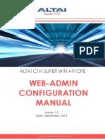 TPS13-009 Rev1-0 C1n Web-Admin Configuration Manual - Fm 1.2.4.x