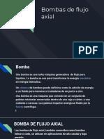 Bombas de Flujo Axial