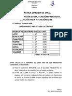 Práctica Dirigida de Excel-4to-IV Bim