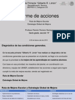 Informe de Acciones RME Ramón