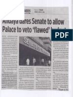 Business World, Mar. 11, 2019, Andaya dares Senate to allow Palace to veto flawed budget.pdf