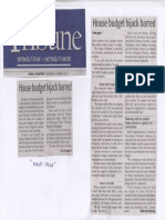 Daily Tribune, Mar. 11, 2019, House budge hijack barred.pdf
