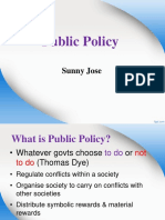 2) What is Public Policy