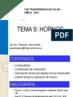 Hornos y Calderas - Operaciones de Transferencia de Calor 2016