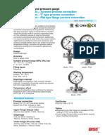 WISE Pressure Gauge P710,P720,P730