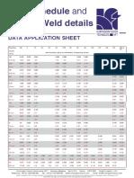 Pipe Schedule Chart Pdf