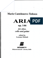 Castelnuovo-Tedesco - Aria Op.146