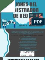 Funciones Del Administrador de Red