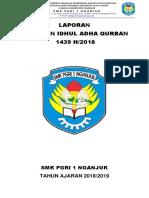Laporan Idhul Adha Qurban