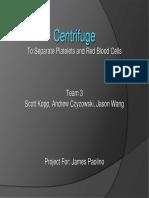 Centrifuge Presentation