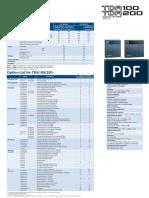 Panasonic KX-TDE100 TDE200 datasheet