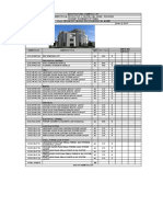 21013 MEP Drawing List