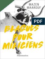 Blagues Pour Miliciens - Maarouf, Mazen