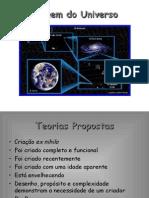 Química PPT - Origem do Universo