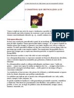 Distorsiones Cognitivas y IE. 6 Págs