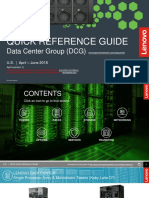 Lenovo DCG Quick Reference Guide US