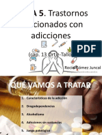 Trastornos Relacionados Con Sustancias y Adicciones
