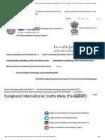 At a Glance _ Surajkund International Crafts Mela (Faridabad) _ Fairs and Festivals _ Haryana Tourism Corporation Limited