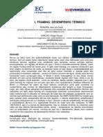 Estudo do desempenho térmico Steel Frame