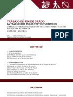 TRABAJO DE FIN DE GRADO LA TRADUCCIÓN EN LOS TEXTOS TURÍSTICOS