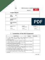 (3G)DBS Hardware Installation Quality Checklist (SUBCON) (002).docx