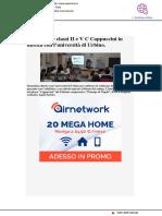 Augusta, le classi II e V C Cappuccini in diretta con l'Università di Urbino - Webmarte.tv, 8 marzo 2019