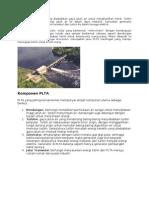 PLTA Merubah Energi Yang Disebabkan Gaya Jatuh Air Untuk Menghasilkan Listrik