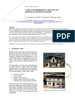 Capacity Assessment of Traditional Roof