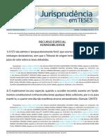 Jurisprudência Em Teses 31 - RECURSO ESPECIAL