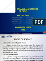 Tools of Science(Bahasa)