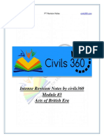 Interim Revision Notes on Acts of BritishEra Civils360