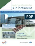 Exemple Rapport LA PRÉCONTRAINTE DANS LE BÂTIMENT