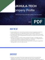 2019 Kukhula Tech Co Profile