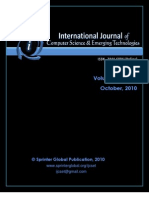 IJCSET - Vol 1, Issue 3 October 2010