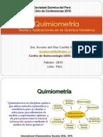 Quimiometria Teoria y Aplicaciones e La Quimica Moderna