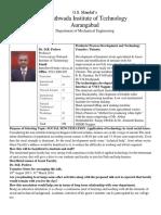 Guest Lecturer Proposal List