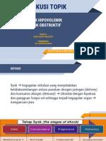 DT - Syok Hipovolemik Dan Syok Obstruktif