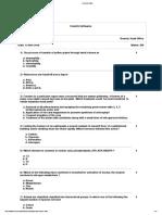 Bio NEET Question Paper(Sample)