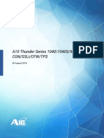 A10 Thunder Series 1040_1040S_940 Installation Guide