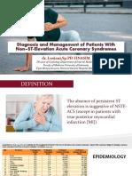 2.Diagnosis Dan Tata Laksana STEMI - New-dr. Arif