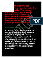Project Tiger