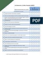 QDEP - Questionário de Dimensões e Estilos Parentais